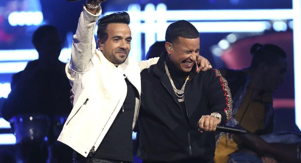 Despacito şarkısıyla bilinen Luis Fonsi ve Daddy Yankee