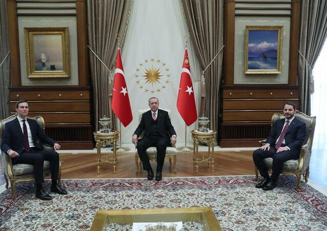 Cumhurbaşkanı Recep Tayyip Erdoğan, ABD Başkanı Donald Trump'ın damadı ve başdanışmanı Jared Kushner