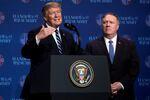 ABD Başkanı Donald Trump Vietnam'ın Hanoi kentinde basın toplantısı düzenledi