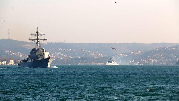 ABD ve Rus savaş gemileri - Sputnik Türkiye