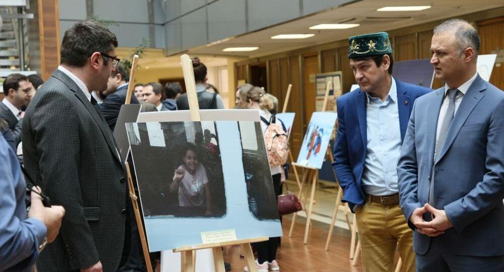 Diplomatların objektifinden Türkiye ve Rusya fotoğraf sergisi - Açılış