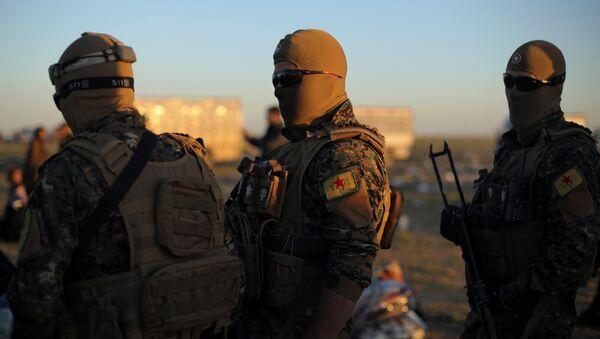 Demokratik Suriye Güçleri (DSG), Suriye'de IŞİD'in elindeki son bölge olan Bagoz'a operasyon düzenledi - Sputnik Türkiye