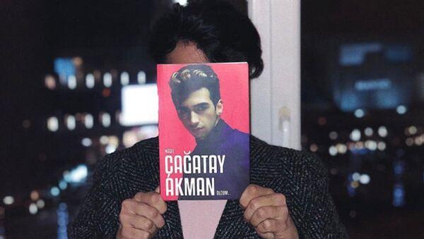 Rapçi Çağatay Akman: Kitabımda kendimi anlattım - Sputnik Türkiye