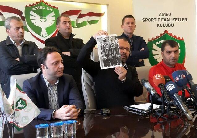 Amedspor Kulübü Başkanı Ali Karakaş