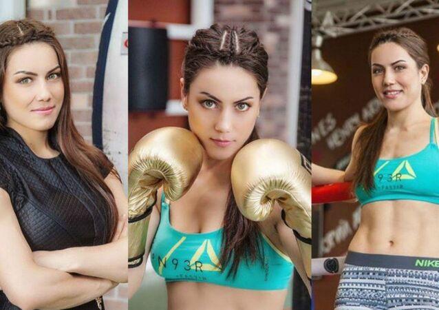 İki siklette dünya şampiyonu olan Kazak boksör Firuza Şaripova