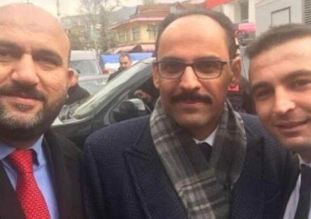 Rize İl Seçim Müdürü Mehmet Akif Alın -  Cumhurbaşkanlığı Sözcüsü İbrahim Kalın
