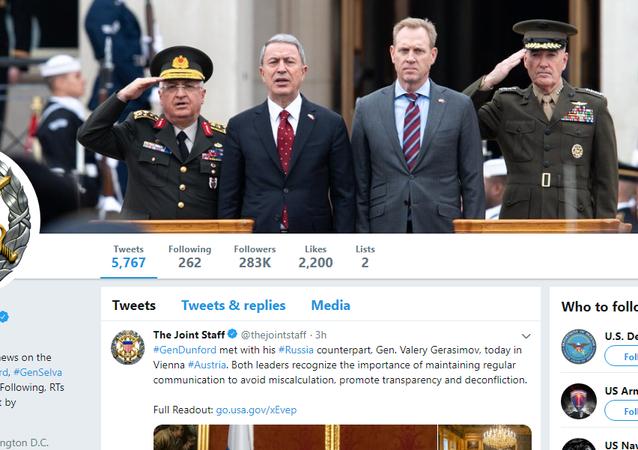 ABD Genelkurmayı kapak fotoğrafını güncelledi: Milli Savunma Bakanı Akar ve Orgeneral Güler karede
