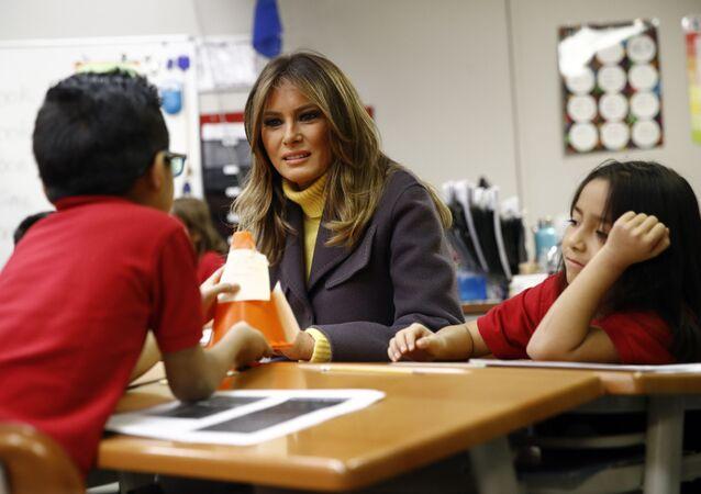 Melania Trump - DOVE School