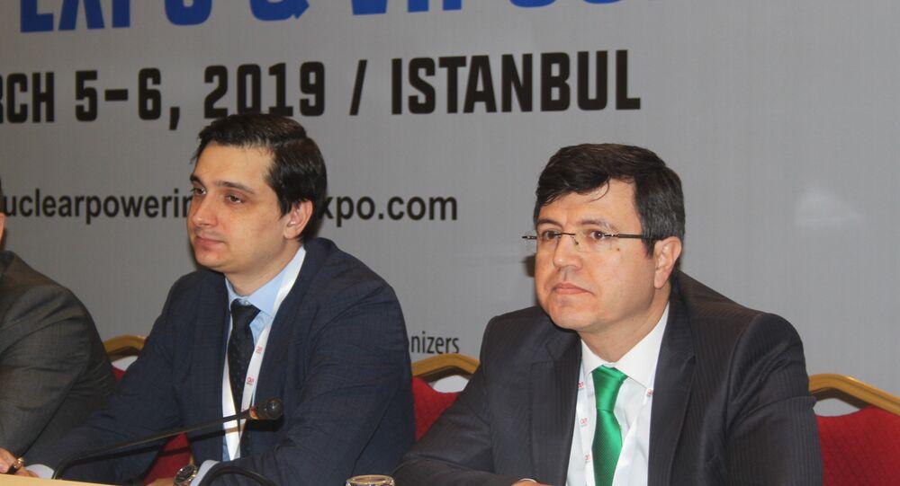 Akkuyu Nükleer Güç Santrali (NGS) AŞ Yönetim Kurulu Başkan Yardımcısı Anton Dedusenko