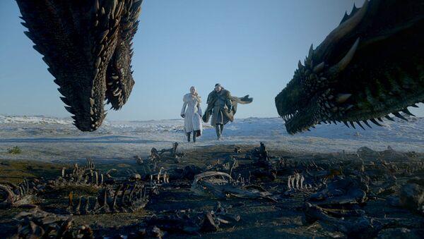 Game of Thrones'un 8. sezon yeni fragmanı yayınlandı - Sputnik Türkiye