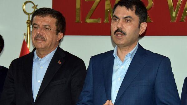 Murat Kurum, Nihat Zeybekci - Sputnik Türkiye