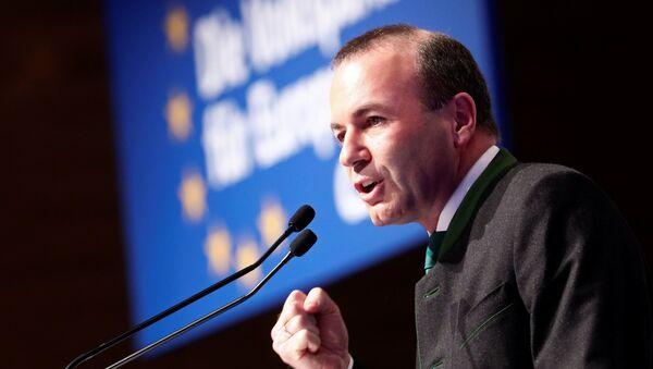 Avrupa Halk Partisi (European Peoples Party's-EPP) adaylarından Manfred Weber - Sputnik Türkiye