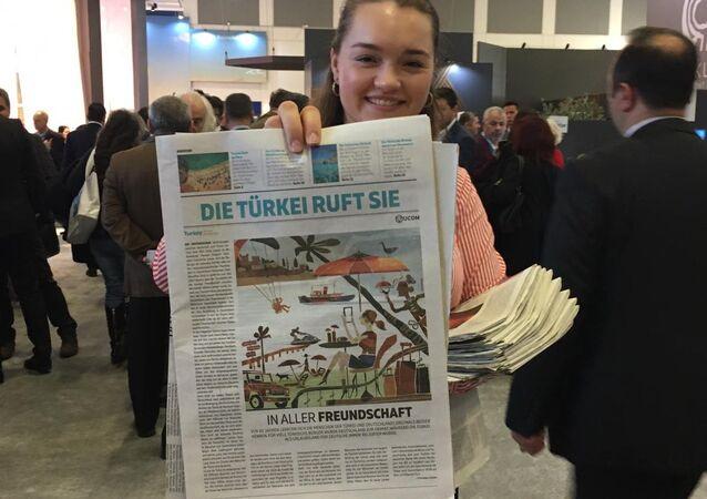 Alman gazetesinden 'Türkiye'ye tatile gidin' çağrısı - Frankfurter Allgemeine Zeitung