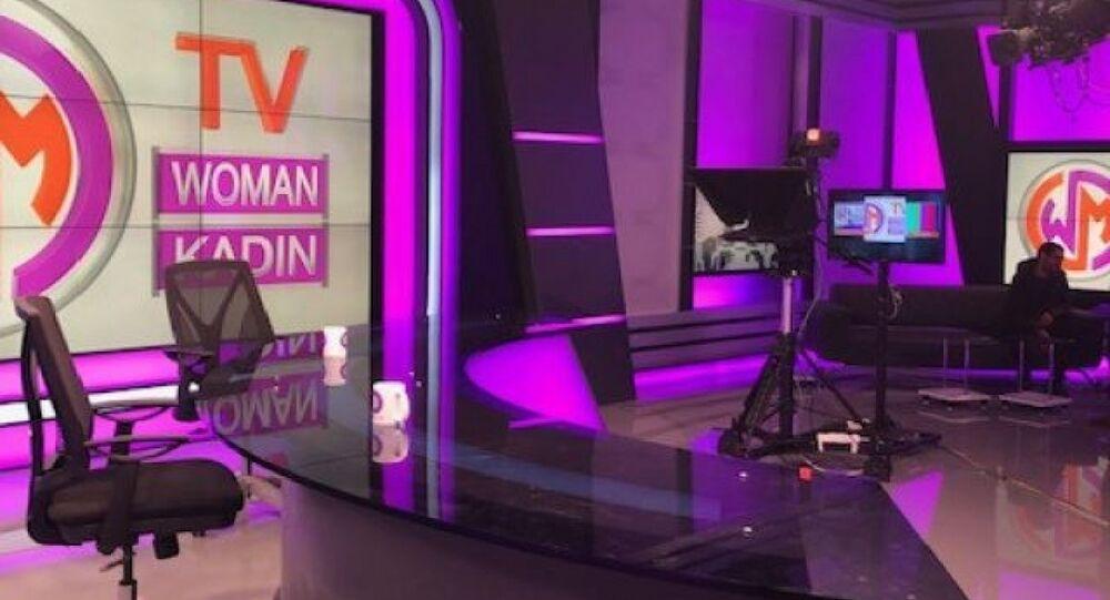 Türkiye'nin ilk kadın televizyonu Woman TV