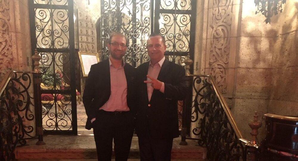 Gülen'in sağ kolu, Trump'ın özel sarayında