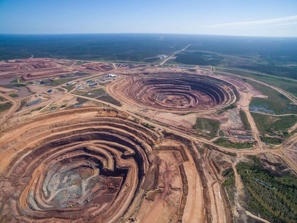 Dünya elmas üretiminin yüzde 25'i, Yakutistan bölgesinde yapılıyor.