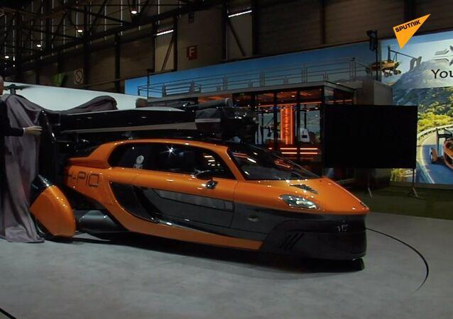 Cenevre'deki fuarda 'araba ve uçak hibridi' tanıtıldı