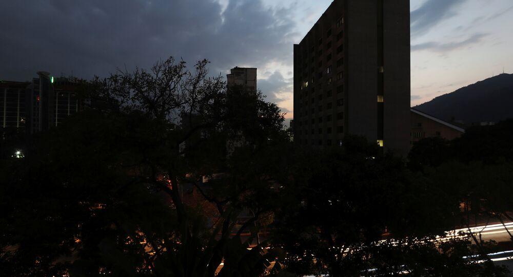 Venezüella'da elektrik kesintisi