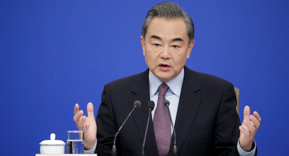 Çin Devlet Konseyi Üyesi ve Dışişleri Bakanı Wang Yi