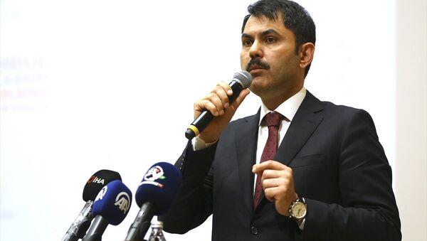 Çevre ve Şehircilik Bakanı Murat Kurum - Sputnik Türkiye
