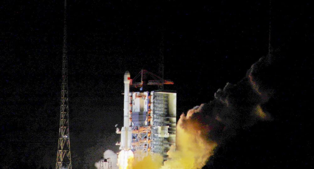 Çin - Uydu fırlatma