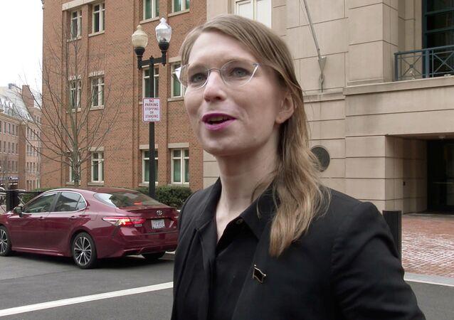 ABD'nin askeri ve diplomatik sırlarını 2010 yılında WikiLeaks ile paylaşan eski ordu istihbarat analisti Chelsea Manning,