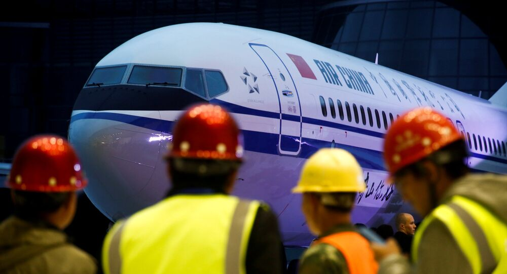 Boeing 737 Max 8 tipi yolcu uçağı