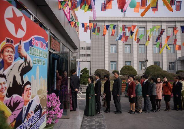 Kuzey Kore'de seçimler