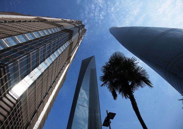 Şanghay'daki gökdelenler