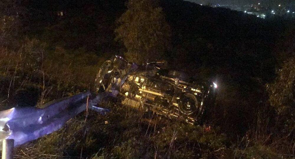 Demet Akbağ'ın eşi trafik kazasında ağır yaralandı