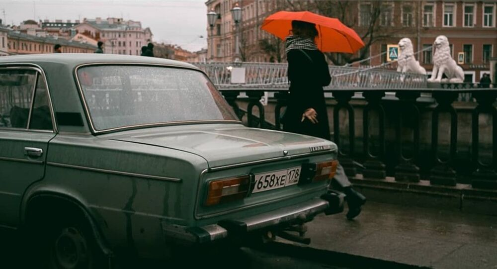 Fransız fotoğrafçı Viktor Balaguer-St. Petersburg