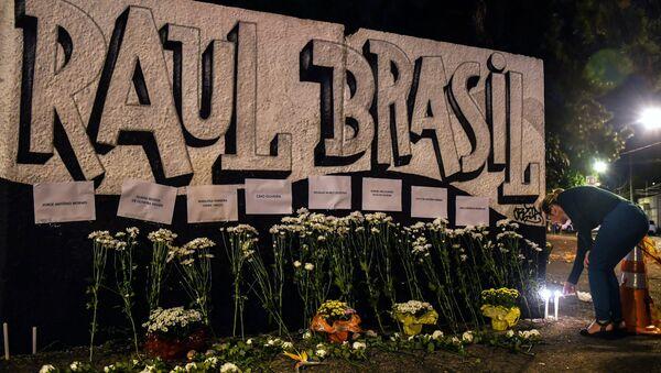 Brezilya'da Sao Paulo eyaletinin Suzano kentinde Professor Raul Brasil isimli okula silahlı saldırı düzenlendi - Sputnik Türkiye