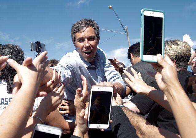 ABD eski Temsilciler Meclisi Üyesi Demokrat Beto O'Rourke