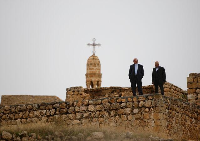 Mardin'in Midyat İlçesi'ne bağlı Zaz Köyü