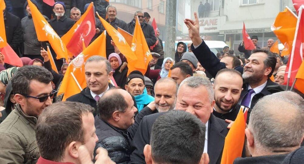 Milliyetçi Hareket Partisi (MHP) Ordu Milletvekili Cemal Enginyurt