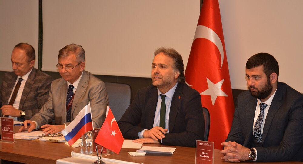 Doç. Fahri Erenel, Prof. Dr. Mesut Hakkı Caşın, Dr. İsmail Safi ve Murat Sadıkzade