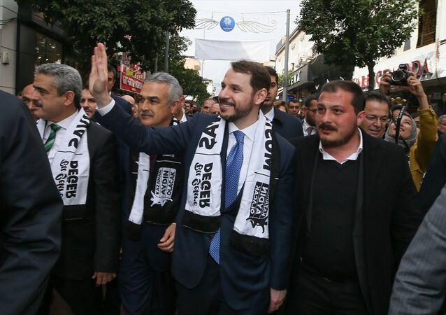 Berat Albayrak, Aydın, Nazilli