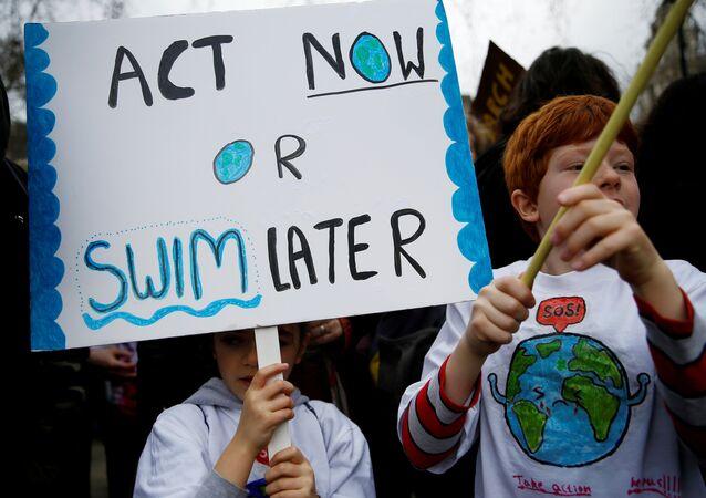 İklim değişikliği protestosu - İngiltere