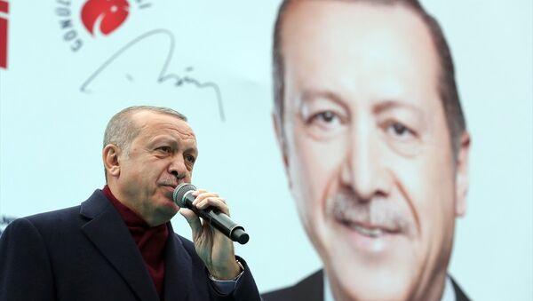 Türkiye Cumhurbaşkanı ve AK Parti Genel Başkanı Recep Tayyip Erdoğan - Sputnik Türkiye