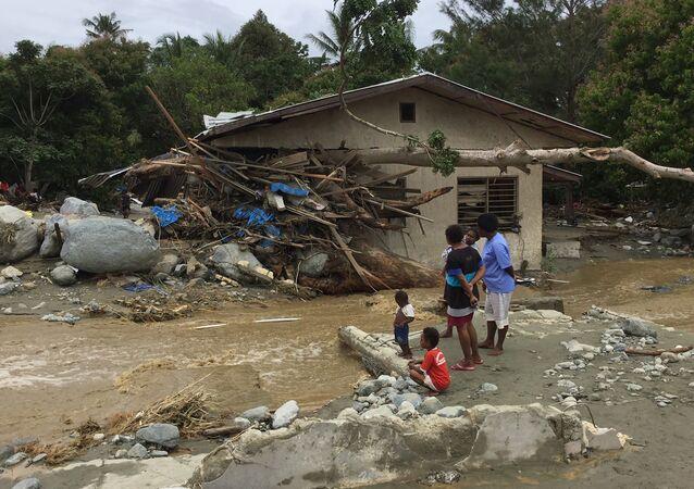Endonezya'da sel felaketi: 70 ölü