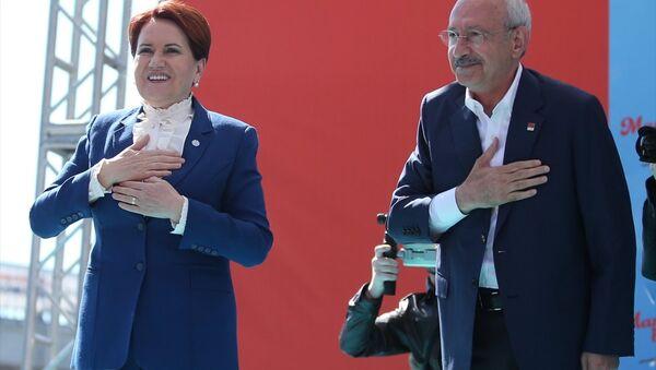 Meral Akşener ile Kemal Kılıçdaroğlu - Sputnik Türkiye