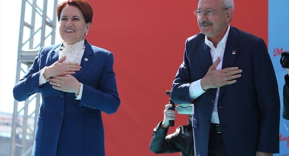 Meral Akşener ile Kemal Kılıçdaroğlu