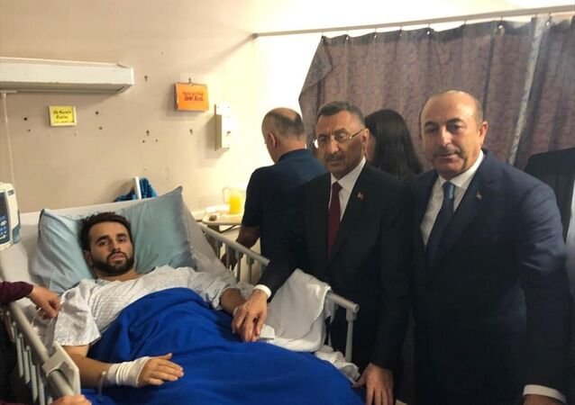 Cumhurbaşkanı Yardımcısı Fuat Oktay ile Dışişleri Bakanı Mevlüt Çavuşoğlu, Yeni Zelanda'da