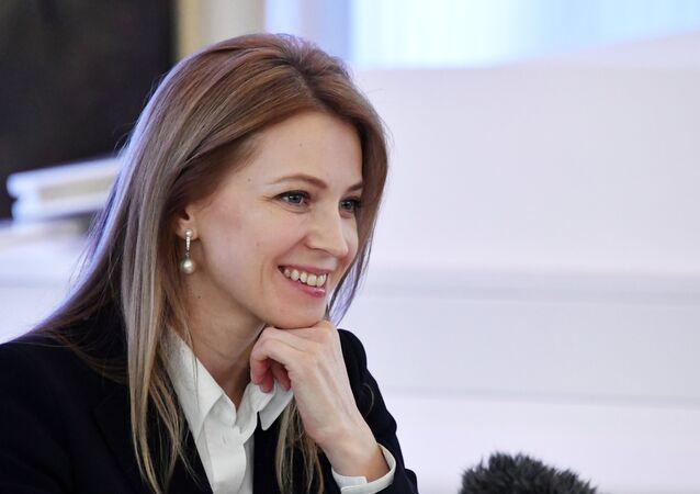Rusya parlamentosunun alt kanadı Duma milletvekili ve eski Kırım Başsavcısı Natalya Poklonskaya