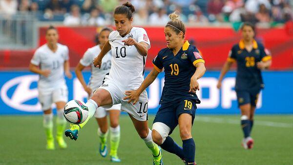 2015 Kadınlar Dünya Kupası ABD-Japonya maçı - Sputnik Türkiye