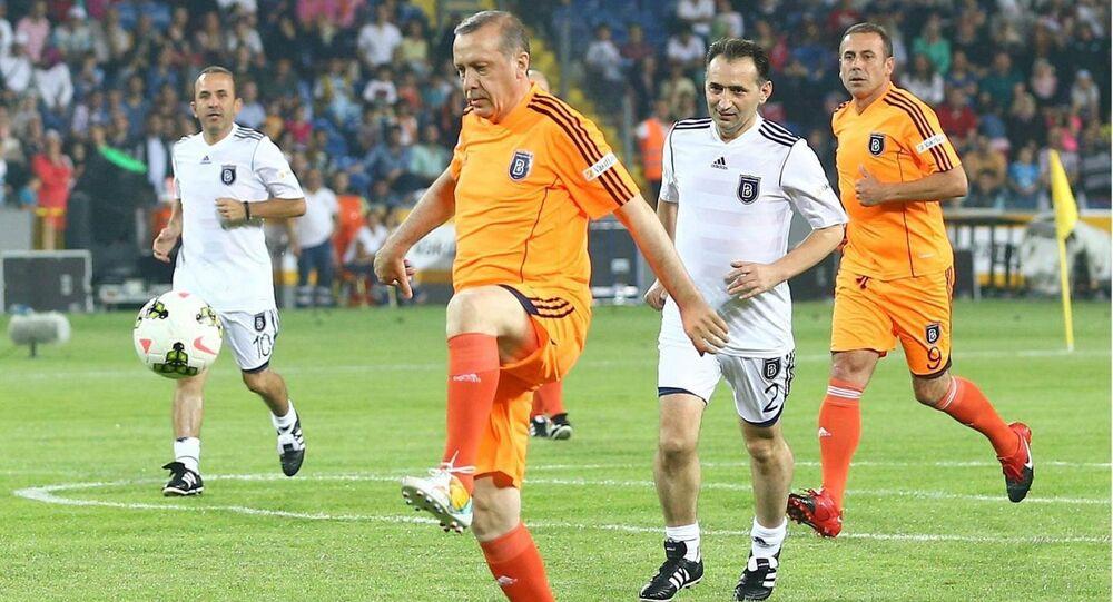 Recep Tayyip Erdoğan - futbol