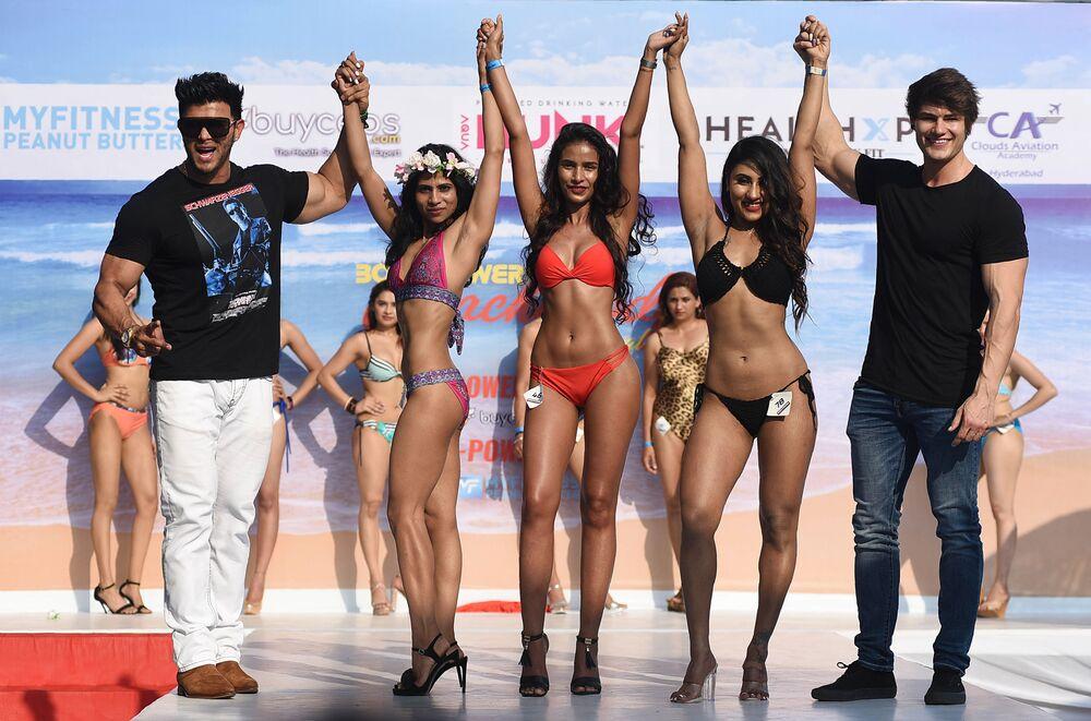 Goa'da plaj festivali