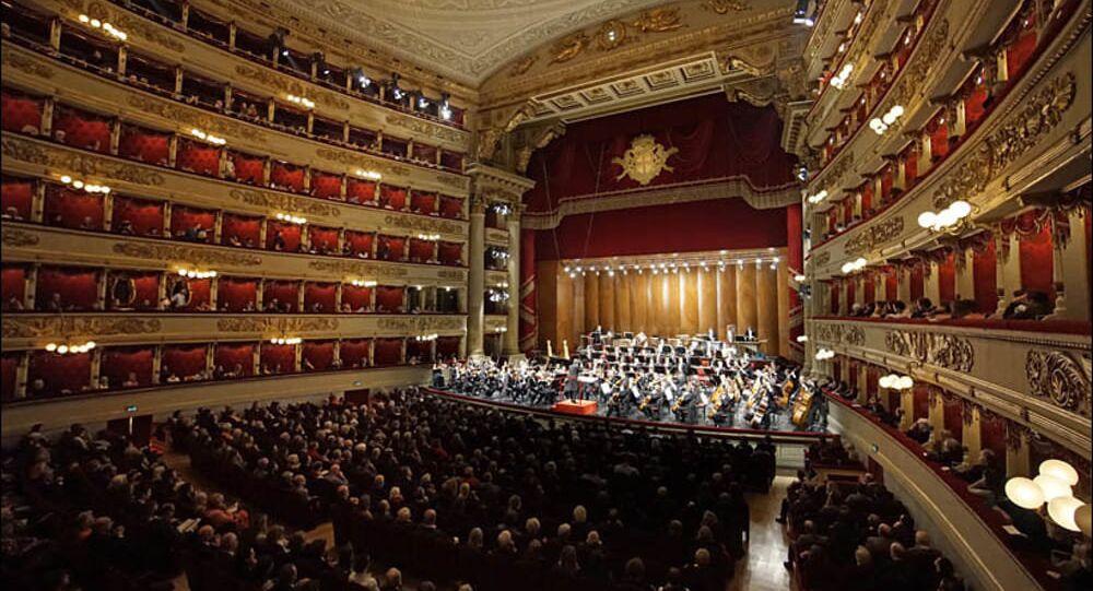 La Scala içerden