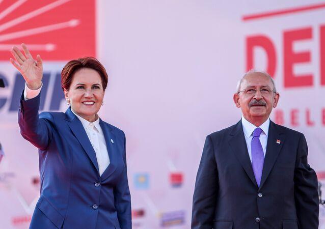 CHP Genel Başkanı Kemal Kılıçdaroğlu - İYİ Parti Genel Başkanı Meral Akşener