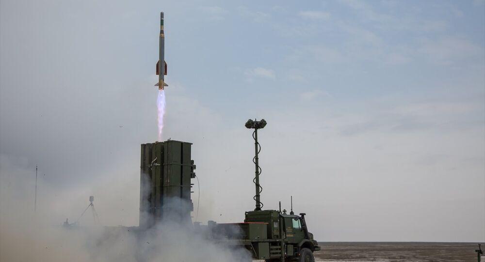 Hisar-A ile füze fırlatma sistem